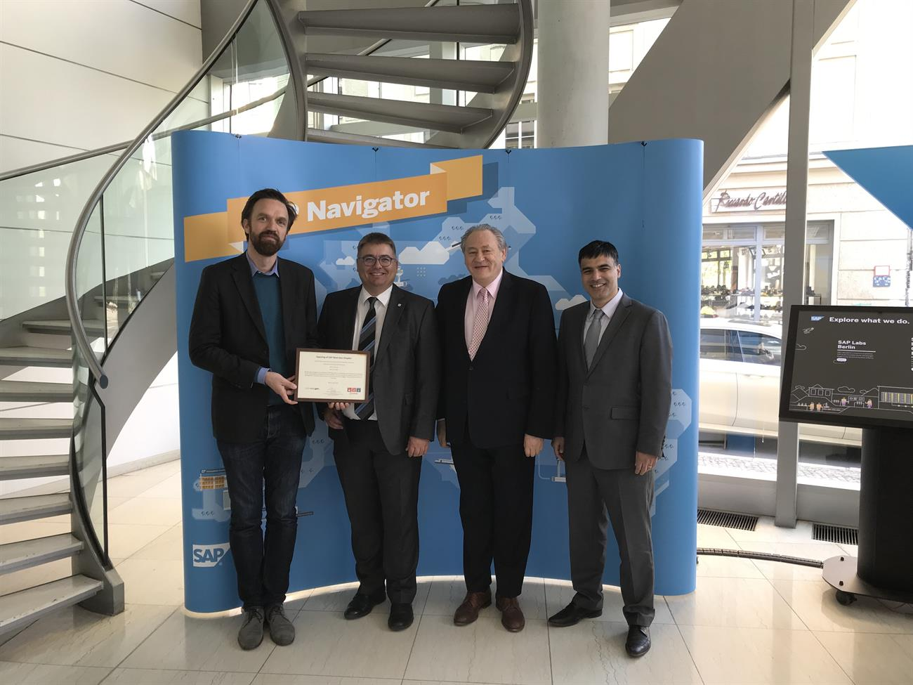"erp4students and THB receive ""SAP Next-Gen Chapter for S/4HANA"" award"